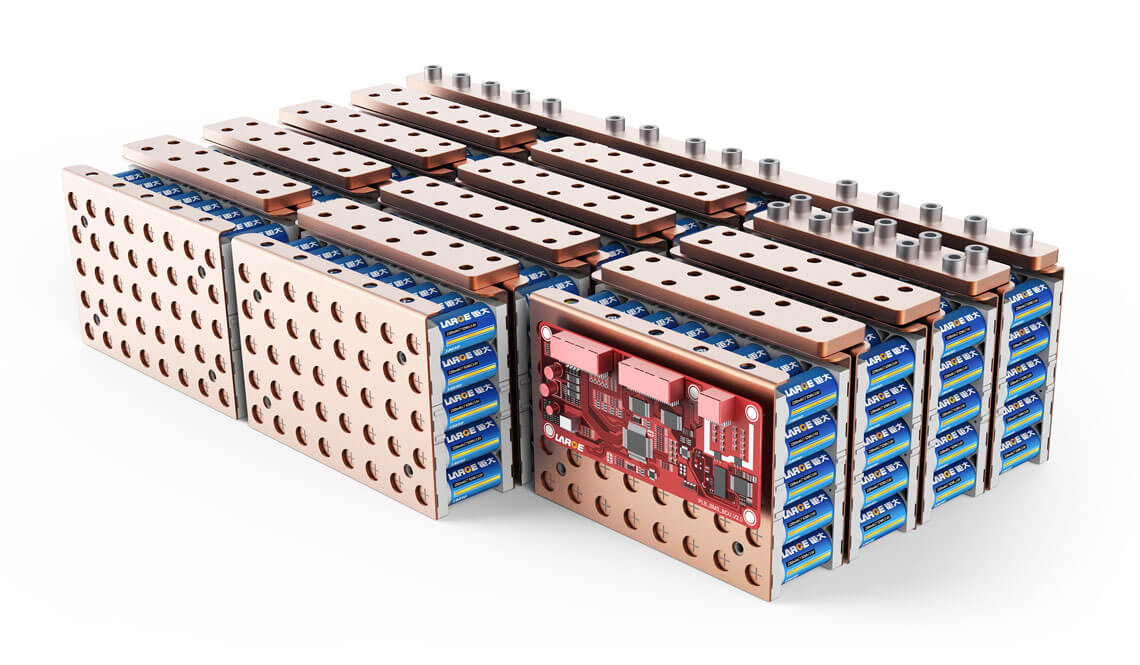 锂电池解剖图
