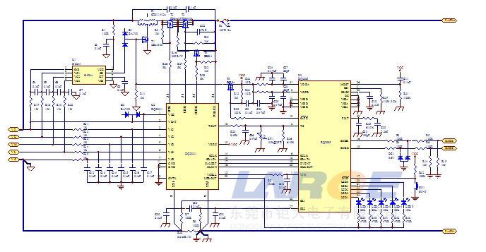 14.8v 8800mah轨道检测仪器智能电池设计方案